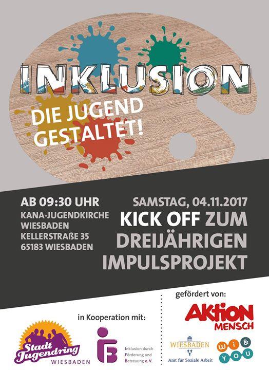 """""""Inklusion – die Jugend gestaltet"""" Kick-off zum Impulsprojekt"""