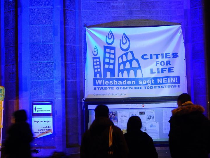 """cities for life"" 30. November: Aktionstag gegen die Todesstrafe"